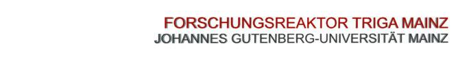 Forschungsreaktor TRIGA Mainz
